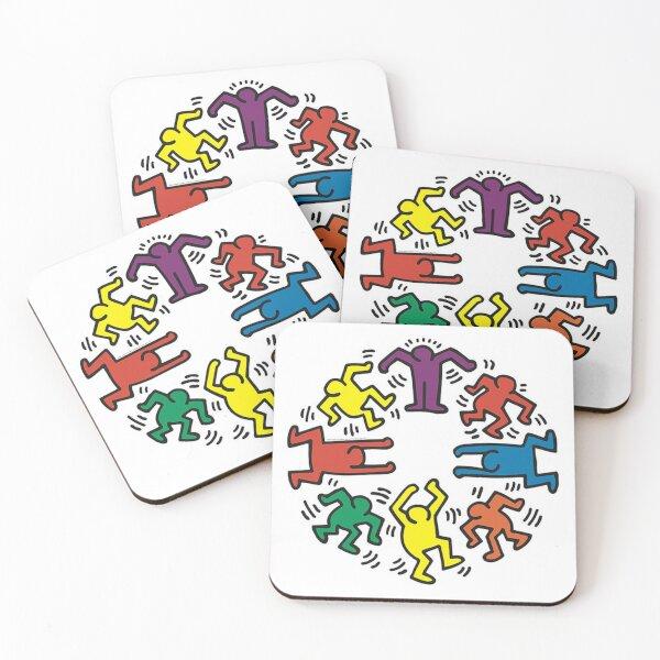 Keith haring Coasters (Set of 4)