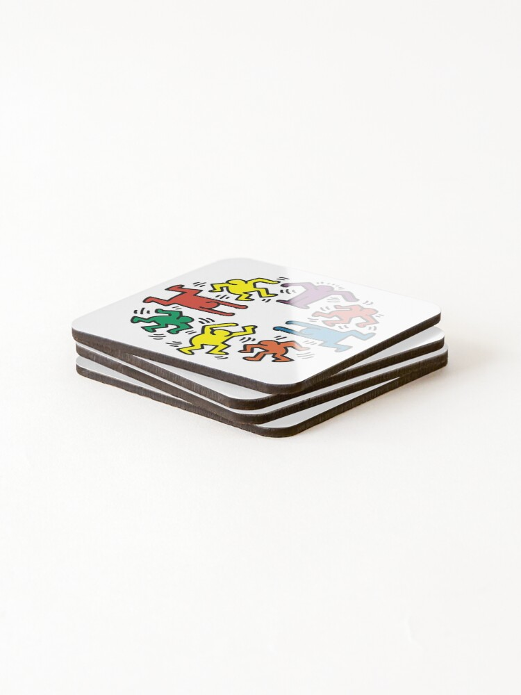 Alternate view of Keith haring Coasters (Set of 4)