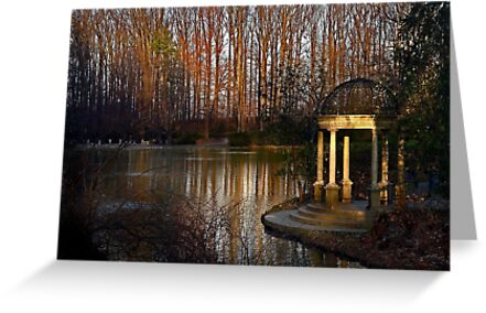 The gazebo at Longwood Gardens by cclaude