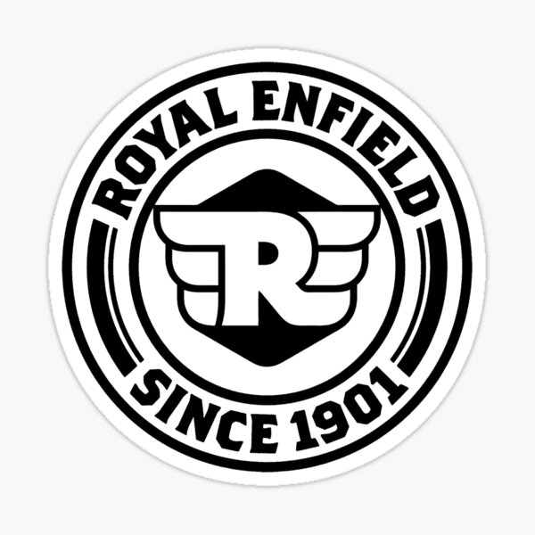 The Royal Enfield  Sticker