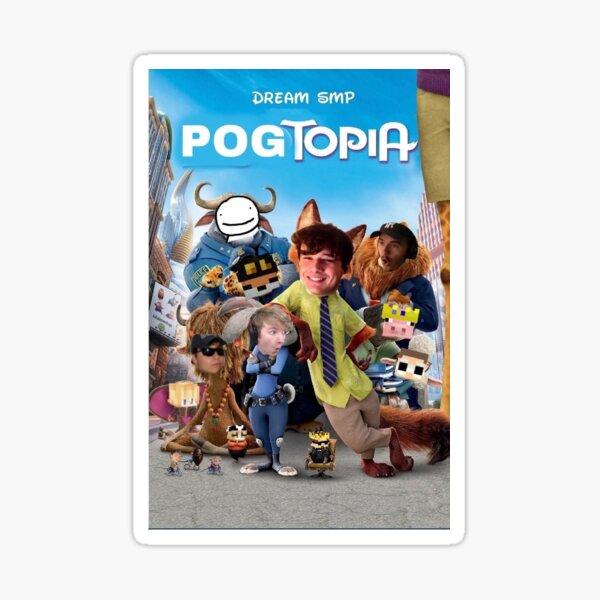 Pogtopia Sticker
