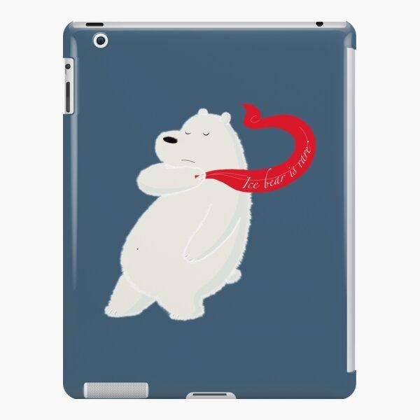 Ice bear is rare. iPad Snap Case