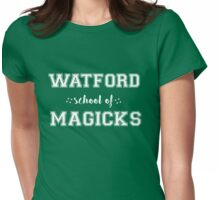 WATFORD - GREEN Womens Fitted T-Shirt