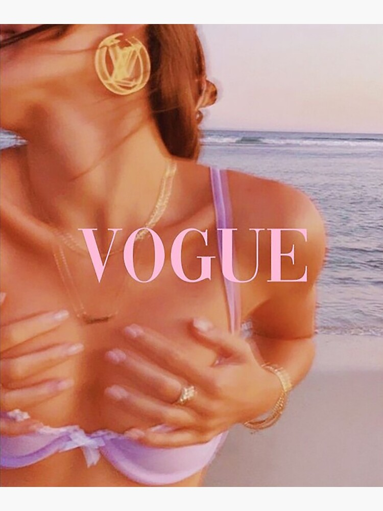 Vogue collage cover Poster by johnmeier