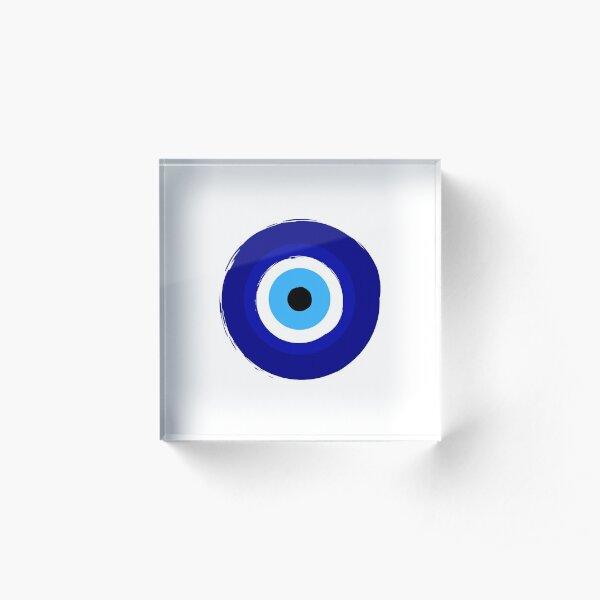 Evil eye  Acrylic Block