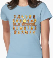 Golden Age of Gaming Womens Fitted T-Shirt