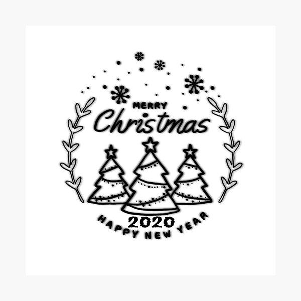 Christmas compound 2020 Photographic Print