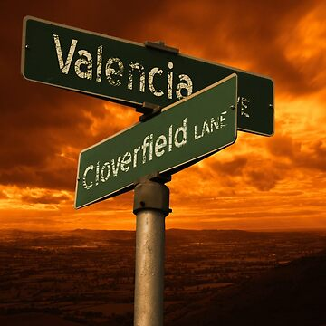 Valencia Ave & Cloverfield Lane by robotplunger