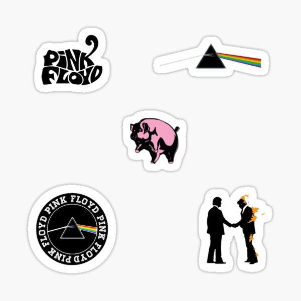 Paquete de pegatinas de Pink Floyd Pegatina