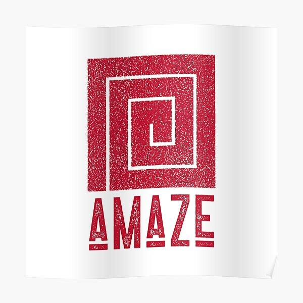 aMaze Poster