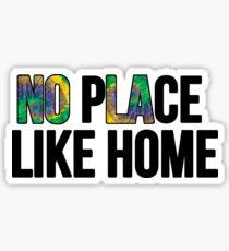No Place Like Home- NOLA  Sticker