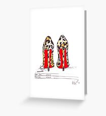 Louboutin Obsession Greeting Card