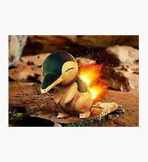 Realistic Pokemon: Cyndaquil Photographic Print