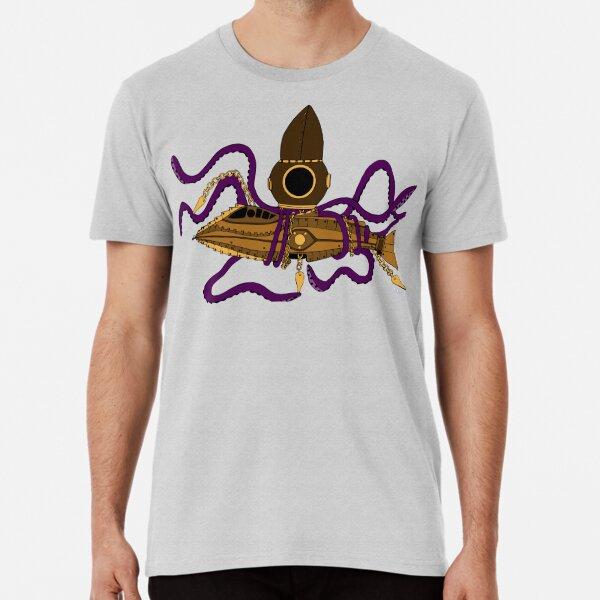 Nautilus Steampunk Camiseta premium