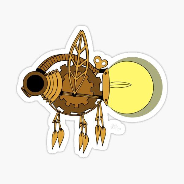 Steampunk Firefly Pegatina