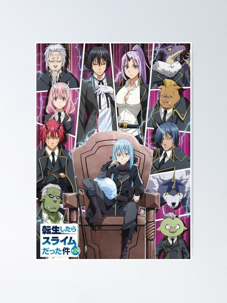 Tensei shitara Slime Datta Ken 2nd Season [0/??] [Sub esp] [MEGA 1 LINK]
