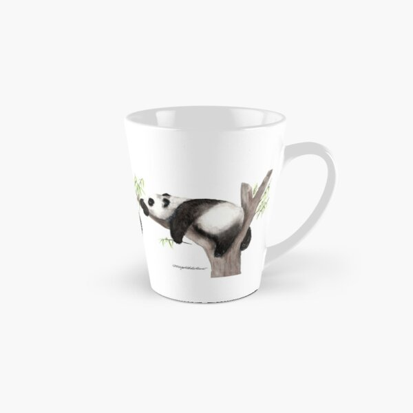 Pandaemia of joy, panda sleeps contentedly Tall Mug