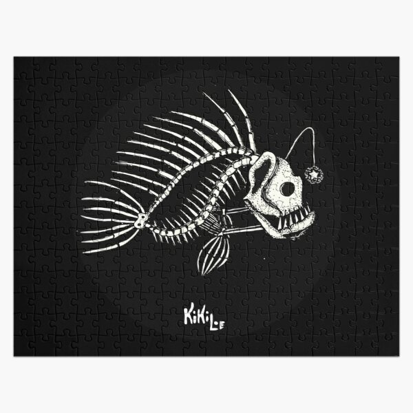 Huesos de pez (Pezqueleto)  Puzzle