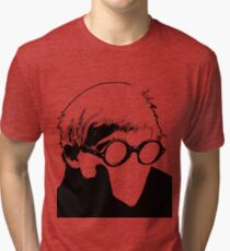 Hockney - vacant expression Tri-blend T-Shirt