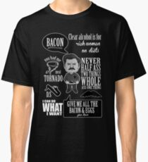 Ron Swanson Montage Classic T-Shirt