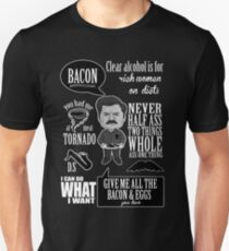 Ron Swanson Montage  T-Shirt
