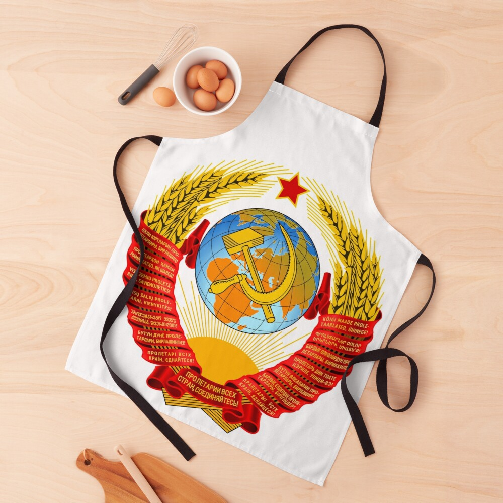 History of the Soviet Union (1927–1953) State Emblem of the Soviet Union Apron