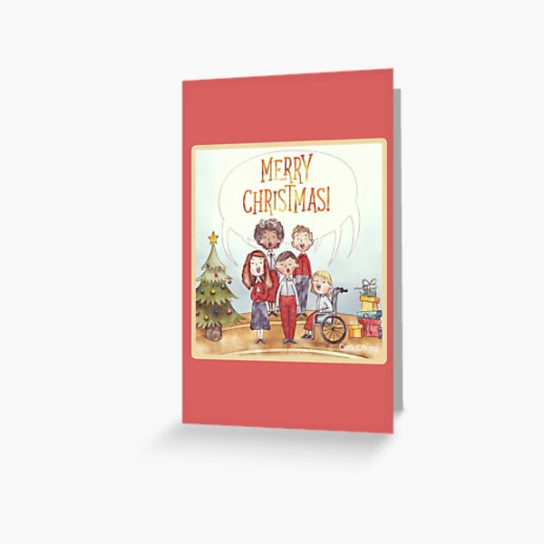 Merry Christmas - Bringing Our Voices Together Greeting Card