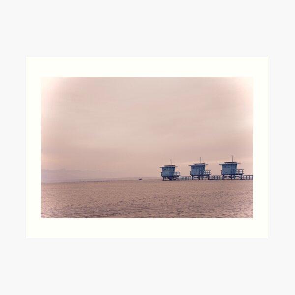 Venice Beach, Los Angeles  Kunstdruck
