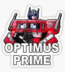 Transformers Optimus Prime MASTERPIECE Sticker