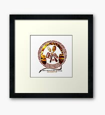 Oh Damn Entertainment Merchandise Framed Print