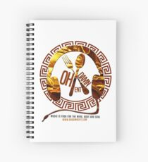Oh Damn Entertainment Merchandise Spiral Notebook