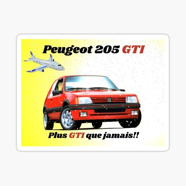 Peugeot 205 GTI Pegatina