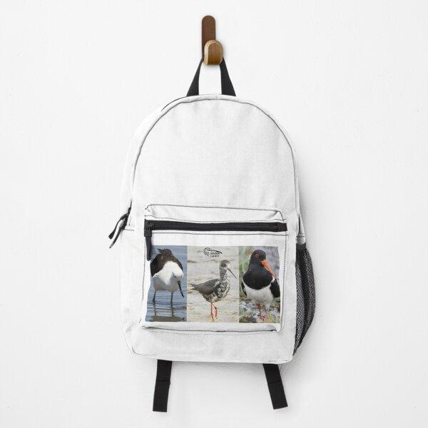 Andean Avocet - Black Stilt, juv - South Island Pied Oystercatcher Backpack