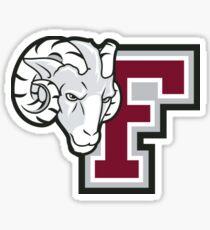 Ram Fordham University Logo Sticker