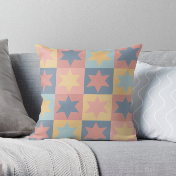 Stars pattern Throw Pillow