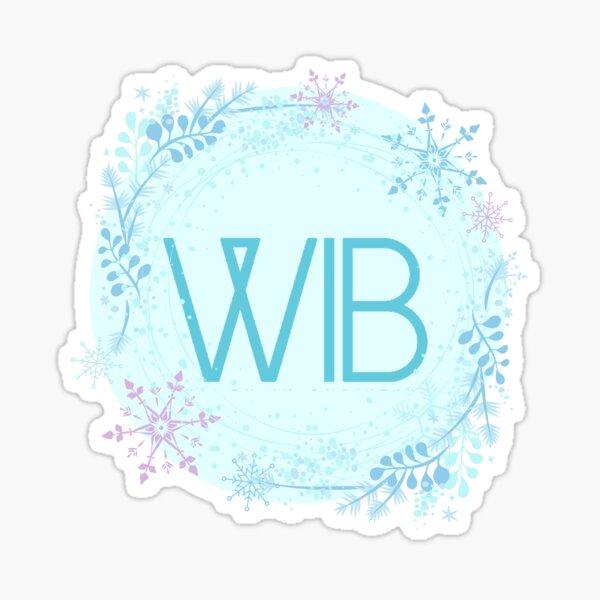 Winter Logo A Sticker
