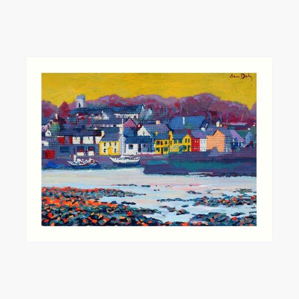 Kinvara Bay (Galway, Ireland) Art Print