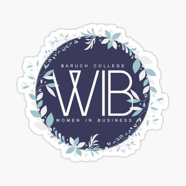 WIB Winter B Sticker