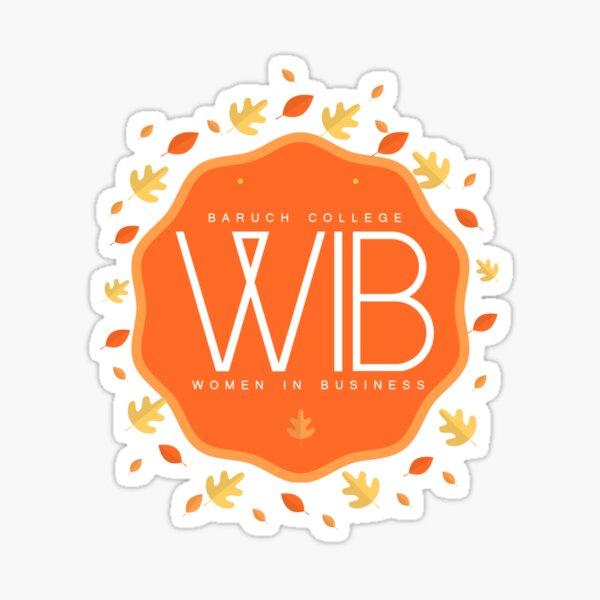 WIB Fall  Sticker