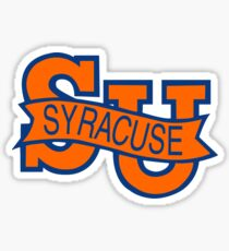 Syracuse Orange University Blue Sticker