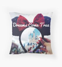 Dreams Come True (Orlando, Florida) Throw Pillow