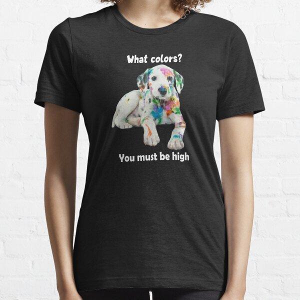 Technicolor Puppy Party Shirt (dark apparel) Essential T-Shirt