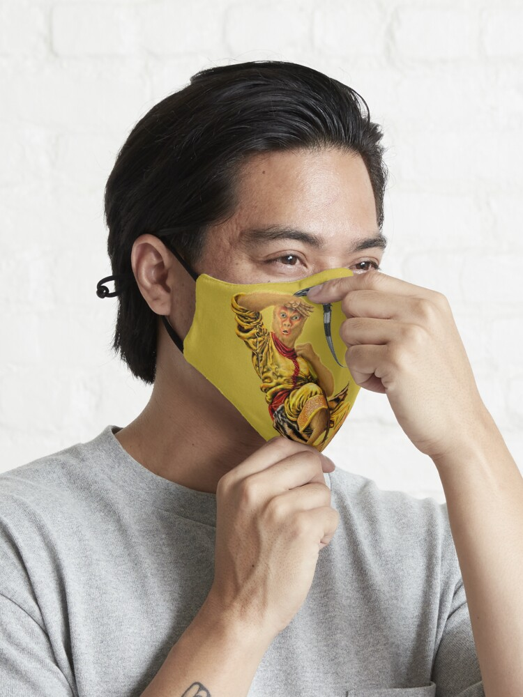 Alternate view of The Monkey King Mask