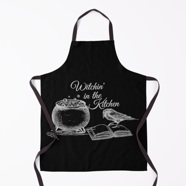 Witchin' in the Kitchen - Gray Bird Apron