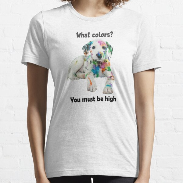 Technicolor Puppy Party Shirt (light apparel) Essential T-Shirt