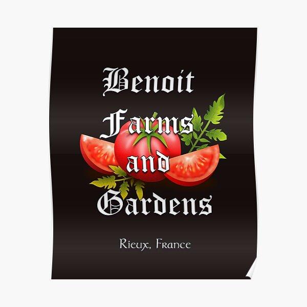 Benoit farms and gardens Poster