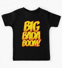 Big Bada Boom Comic Book T Shirt Kids Tee