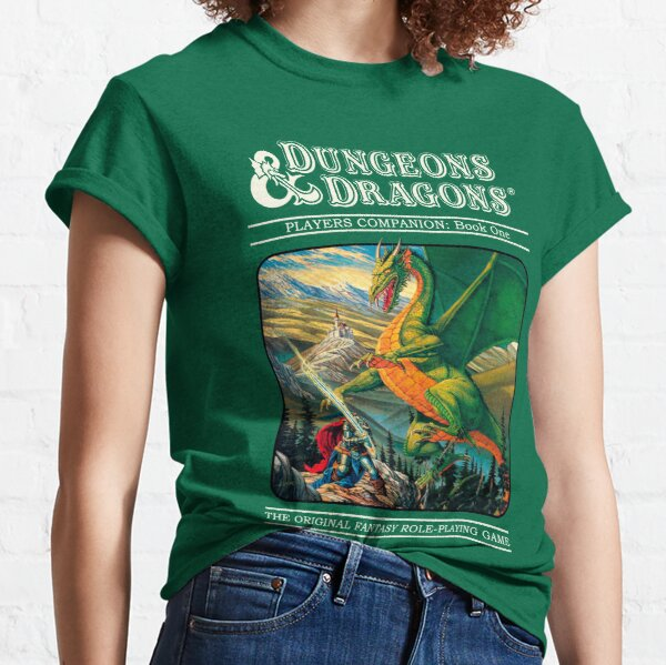 Retro Dungeons And Dragons Cover Classic T-Shirt