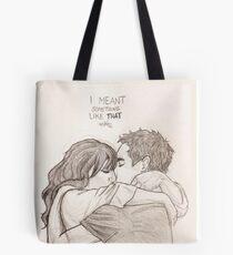 Nick and Jess Tote Bag