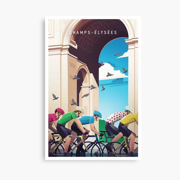 Champs-Élysées - Tour de France Canvas Print